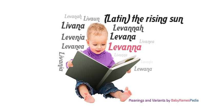 Meaning of the name Levanna