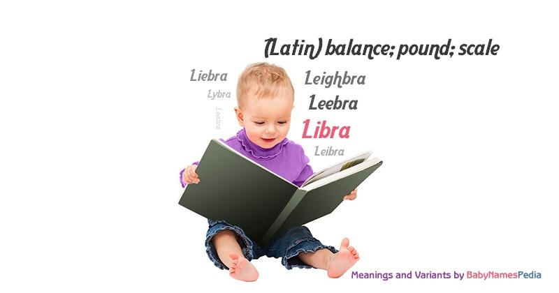 Meaning of the name Libra