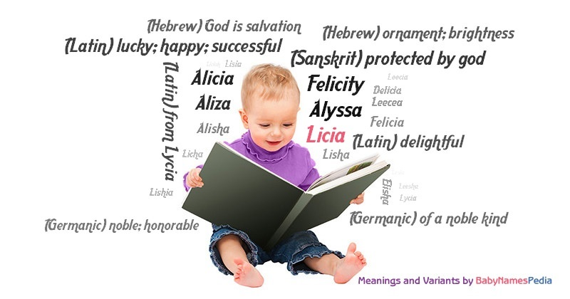 Meaning of the name Licia