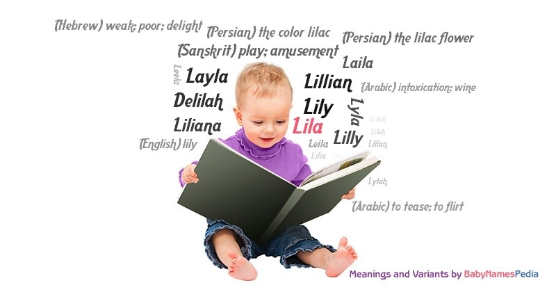 Meaning of the name Lila