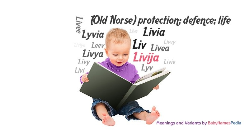 Meaning of the name Livija