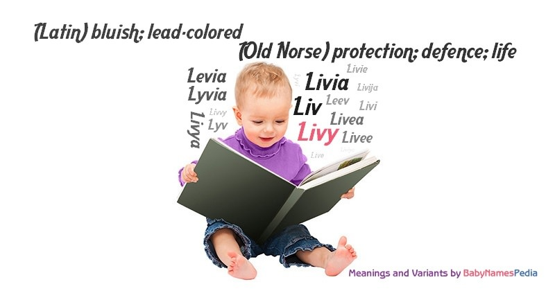 Meaning of the name Livy