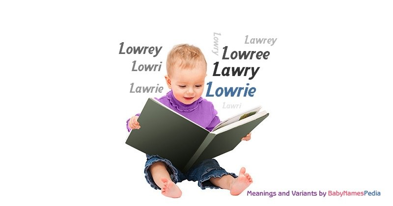 Meaning of the name Lowrie