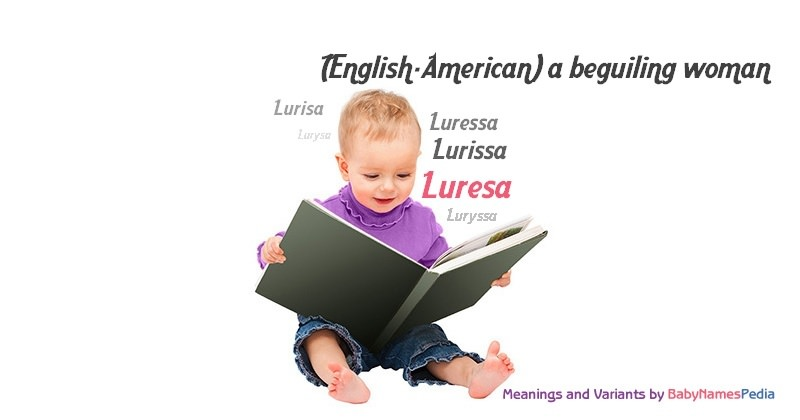 Meaning of the name Luresa