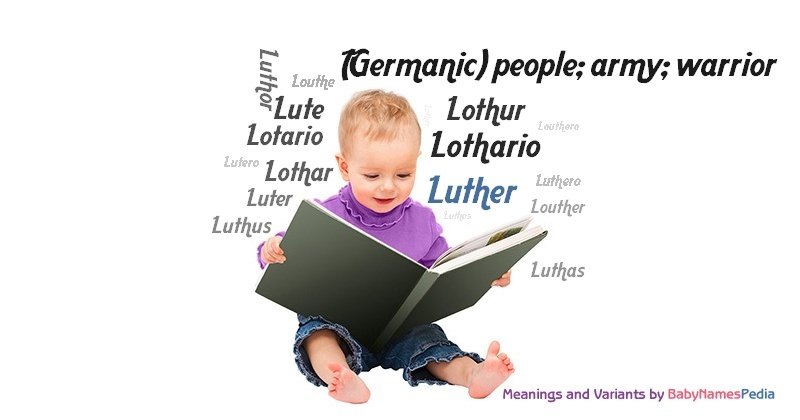 Meaning of the name Luther