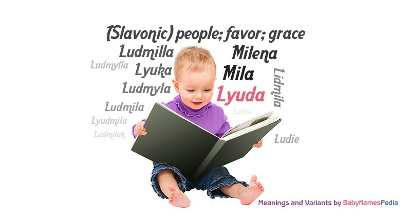 Meaning of the name Lyuda