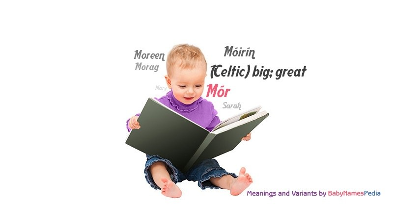 Meaning of the name Mór