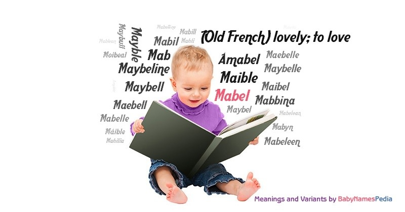 Meaning of the name Mabel