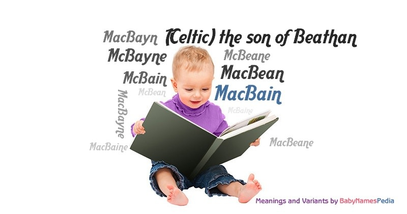 Meaning of the name MacBain