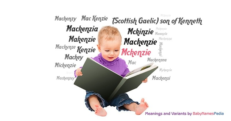 Meaning of the name Mckenzie