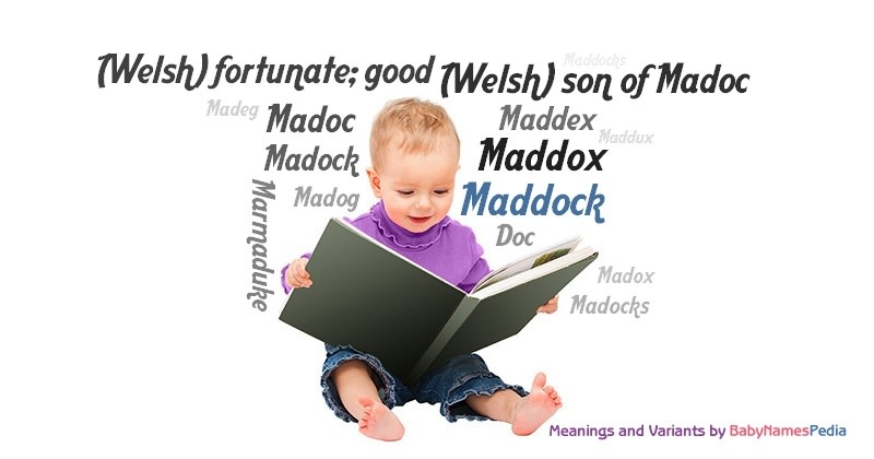 Meaning of the name Maddock