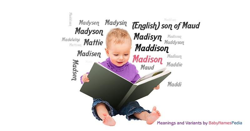 what is the meaning of the name madison