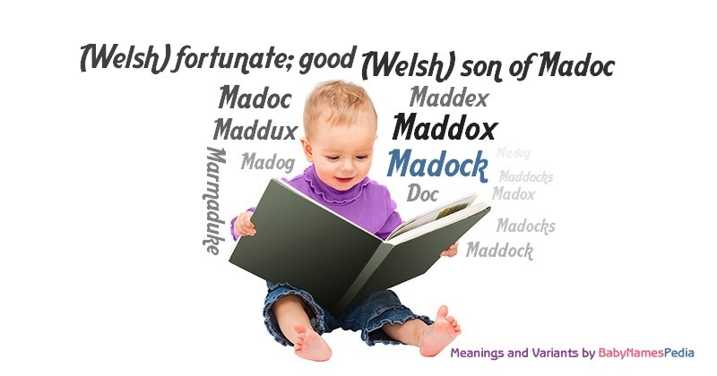Meaning of the name Madock