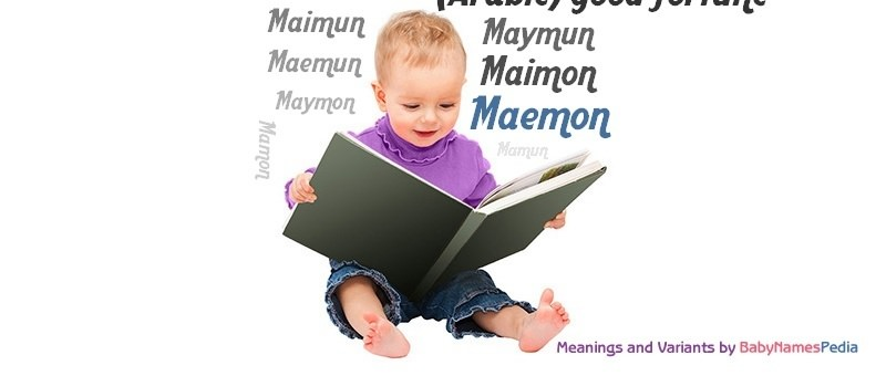 Meaning of the name Maemon