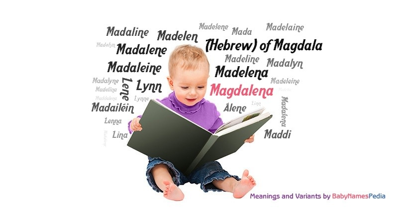 Meaning of the name Magdalena