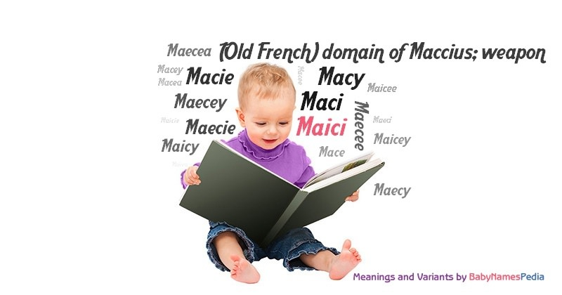 Meaning of the name Maici