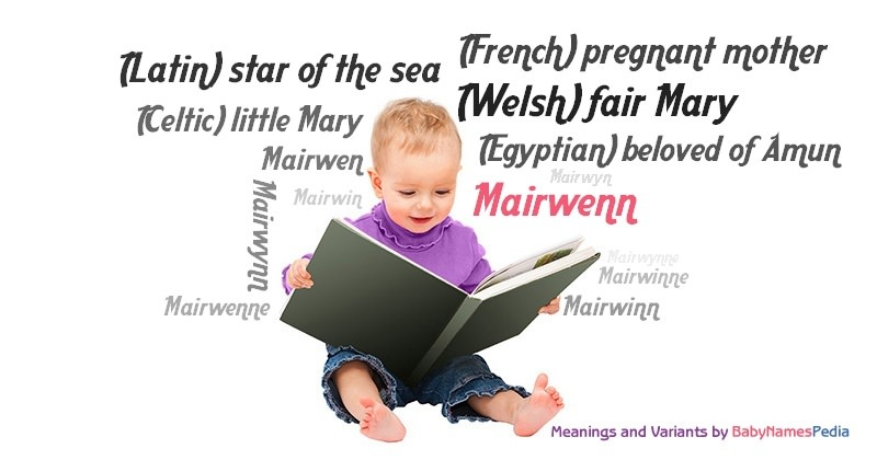 Meaning of the name Mairwenn