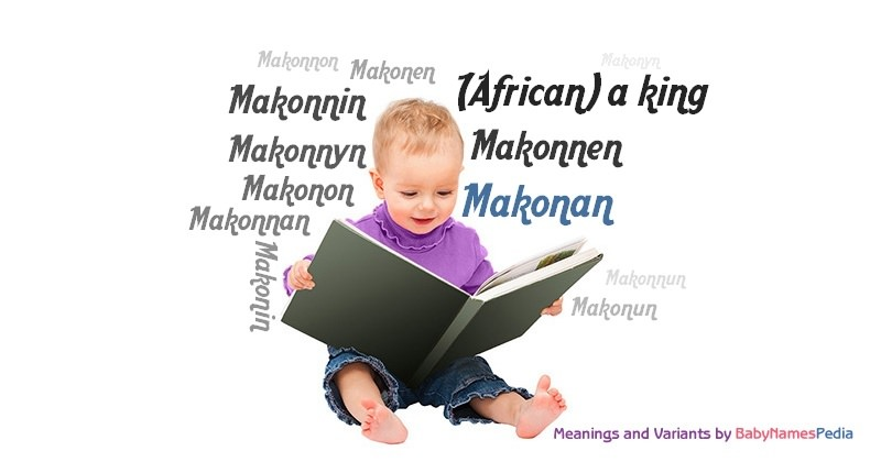 Meaning of the name Makonan