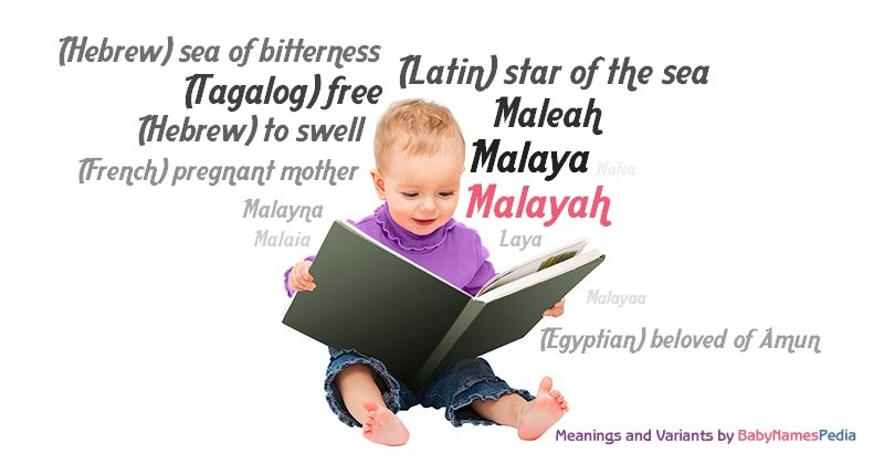 Meaning of the name Malayah