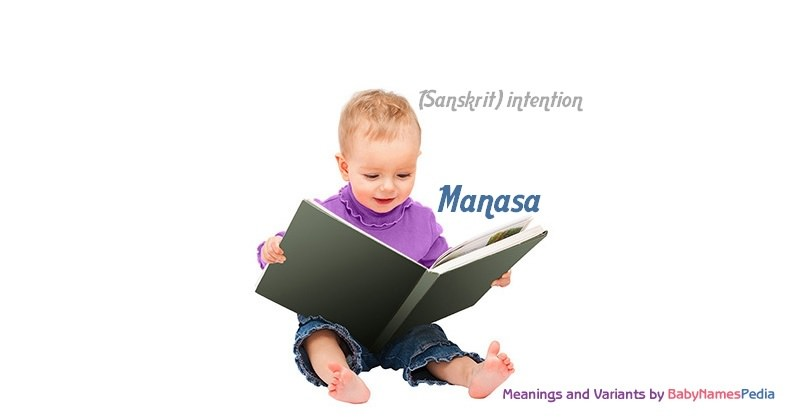 Meaning of the name Manasa