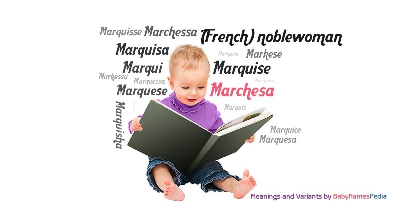 Meaning of the name Marchesa