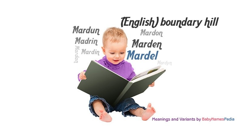 Meaning of the name Mardel