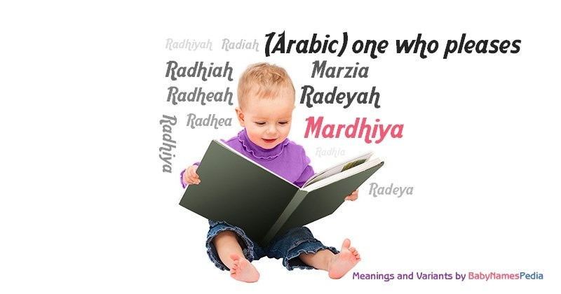 Meaning of the name Mardhiya