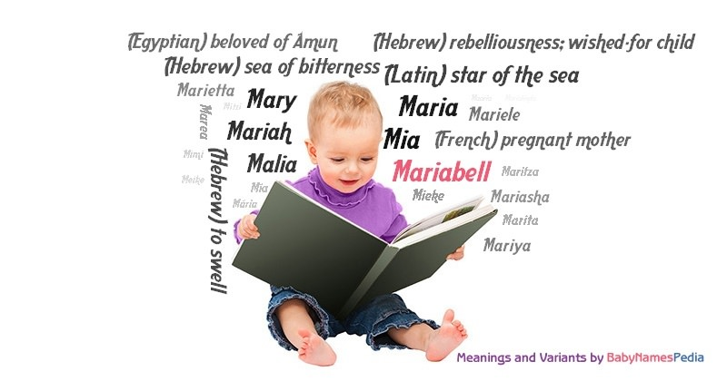 Meaning of the name Mariabell