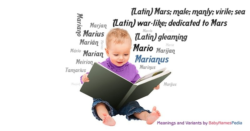 Meaning of the name Marianus