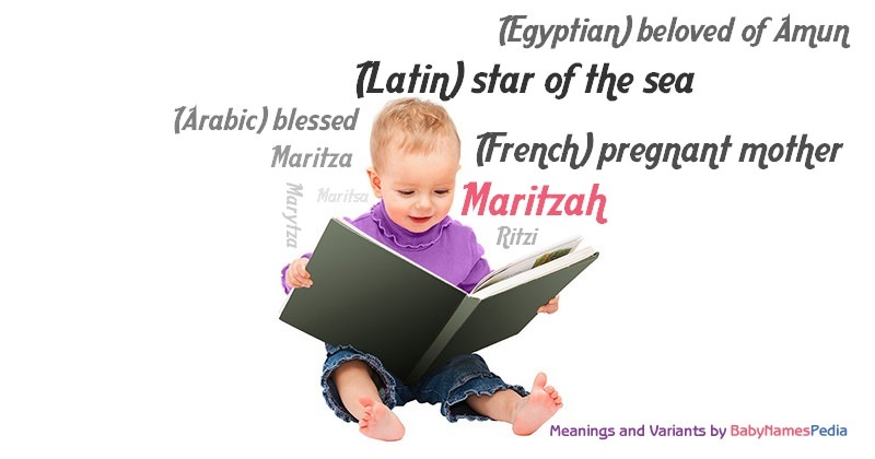 Meaning of the name Maritzah