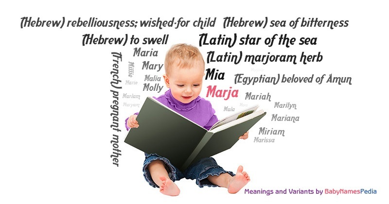 Meaning of the name Marja