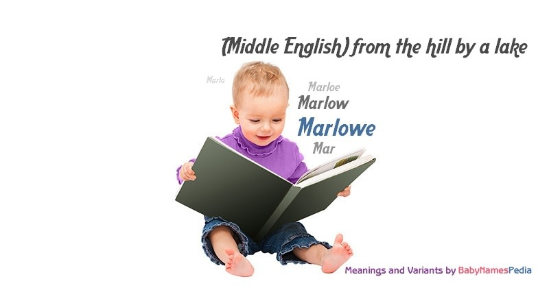 Meaning of the name Marlowe