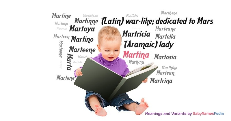 Meaning of the name Martina