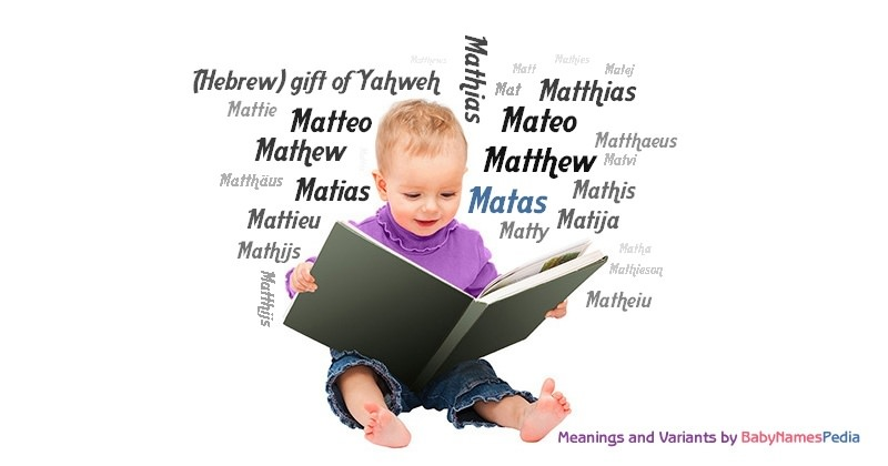 Meaning of the name Matas