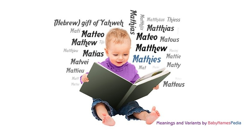 Meaning of the name Mathies