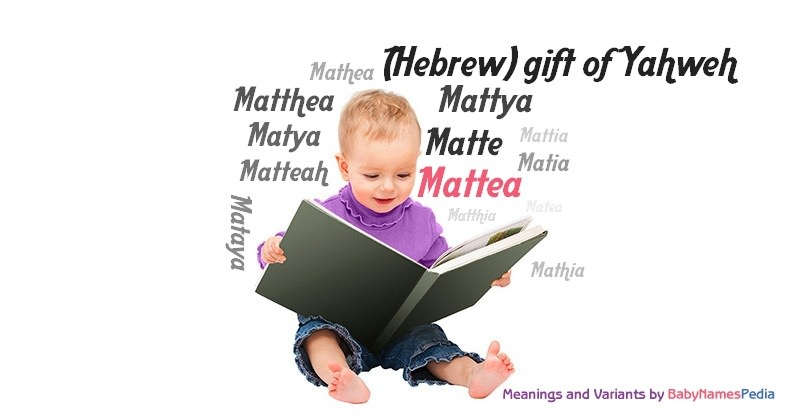 Meaning of the name Mattea