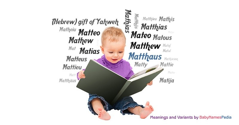 Meaning of the name Matthaus