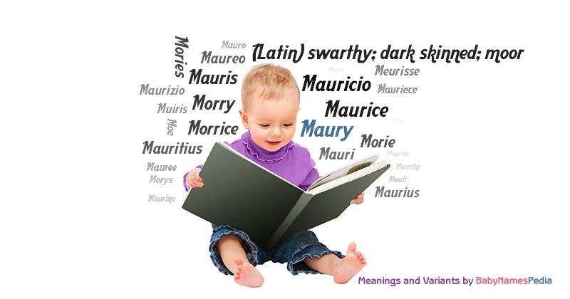 Meaning of the name Maury