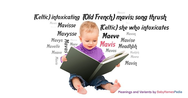 Meaning of the name Mavis