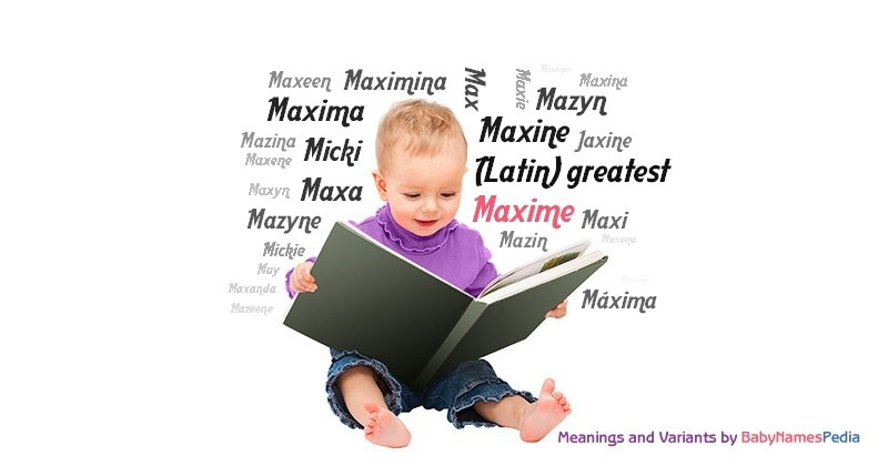 Maxime meaning of maxime what does maxime mean girl name for What does maison mean in english