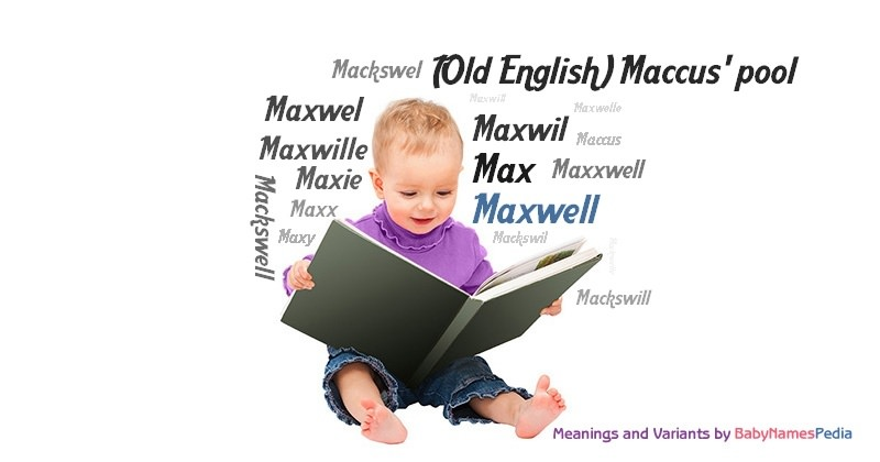 Meaning of the name Maxwell