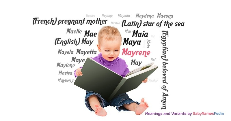 Meaning of the name Mayrene