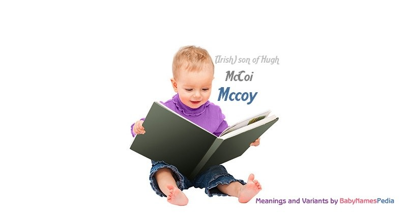Meaning of the name Mccoy