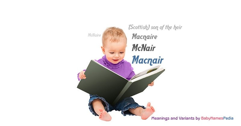 Meaning of the name Macnair