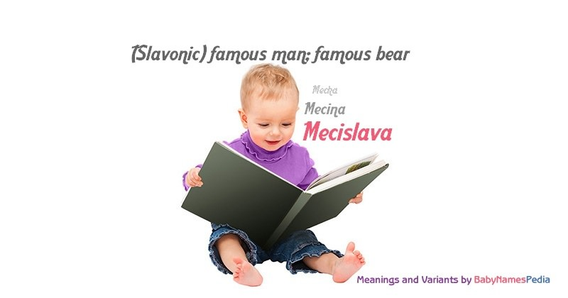 Meaning of the name Mecislava