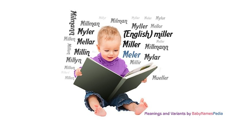 Meaning of the name Meler
