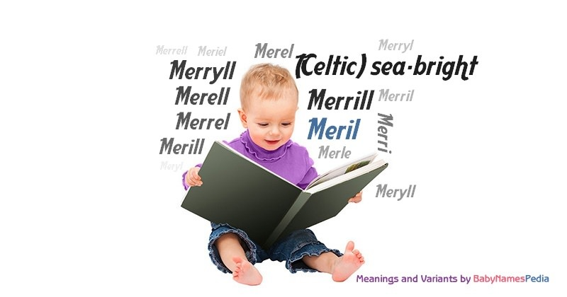 Meaning of the name Meril