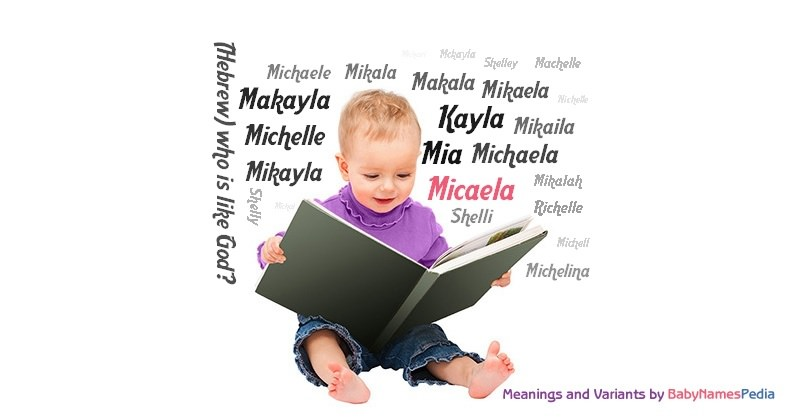 Meaning of the name Micaela