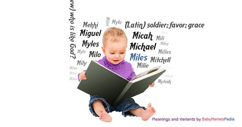 Meaning of the name Miles