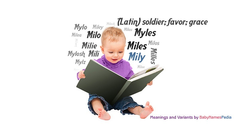 Meaning of the name Mily